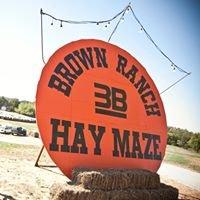 Brown Ranch Hay Maze
