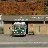 Excelsior Engine Company No. 5 - PJFD, Port Jervis, New York