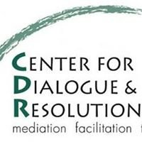 The Center for Dialogue & Resolution - Community Mediation Services