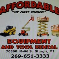 Affordable Equipment & Tool Rental