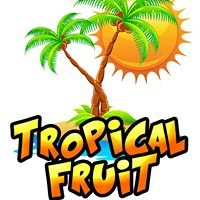 Tropical Fruit: Shaved Ice with real fruit