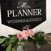 Mrs. Planner Wedding & Event Planning