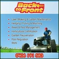 Back To Front Landscaping And Garden Maintenance