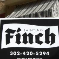 Finch Painting