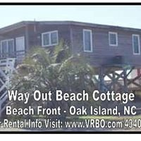 Way Out  Beach Cottage - Ocean Front