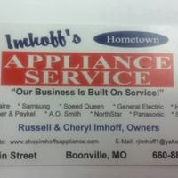 Imhoff's Hometown Appliance Service