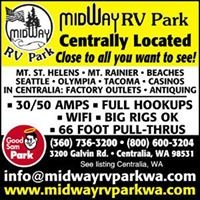 Midway RV Park Centralia Washington: Owners Richard and Lori James