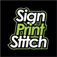 Sign Print Stitch