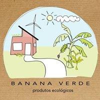 Banana Verde - Produtos Ecológicos