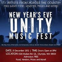 New Year's Unity Music Fest
