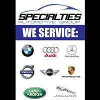 Specialties Automotive Group, LLC - Bountiful, Utah