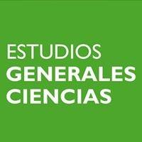 Estudios Generales Ciencias