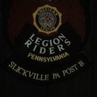 American Legion Riders Post 18 Slickville, Pennsylvania