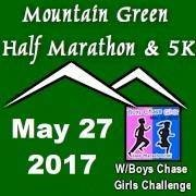 Mountain Green Half with Boys Chase Girls Challenge