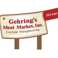 Gehring's Meat Market