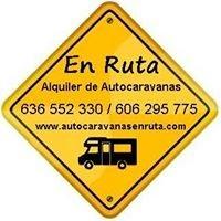 """Alquiler y venta de Autocaravanas   -   """"En ruta"""""""