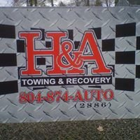 H & A Towing and Recovery