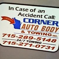 Corner Autobody and Towing, Inc.