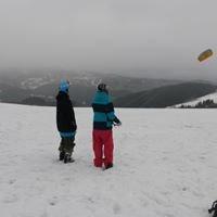 Snowkiting school Krkonose