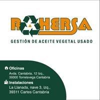 Rahersa - Gestión de aceite vegetal usado