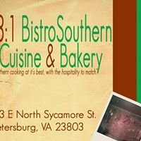 23:1 Bistro   Southern Cuisine & Bakery Bar