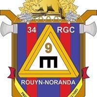 34e Régiment du génie de combat détachement Rouyn