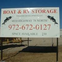 Two Fish Development Boat and RV Storage