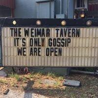 The Weimar Tavern