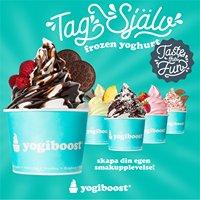 Yogiboost Frozen Yoghurt - Mobilia