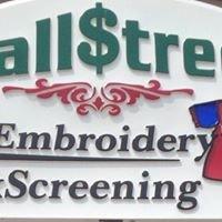 Wallstreet Embroidery & Silk Screening