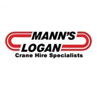 Mann's Logan Crane Hire