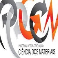 Programa de Pós-Graduação em Ciência dos Materiais