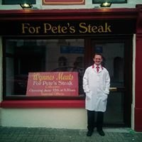 For Pete's steak wynnes meats