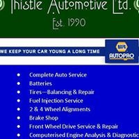 Thistle Automotive Ltd