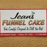 Jean's Funnel Cake