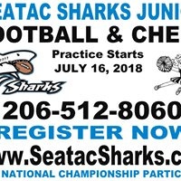 Seatac Sharks Junior Football and Cheer