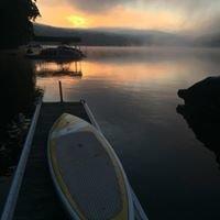Paddleboarding Deep Creek Lake