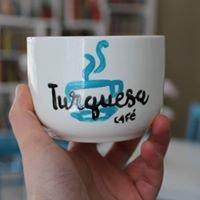 Turquesa café