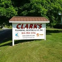 Clark's Plumbing, Heating, and Air Conditioning Inc
