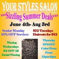 Your Styles Salon, LLC