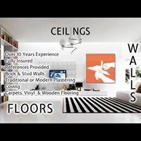 Ceilings, Walls & Floors