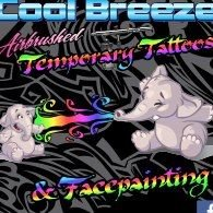 Cool Breeze Airbrushed Tattoos & Facepainting