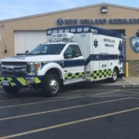 New Holland Ambulance