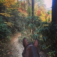 Smokemont Riding Stable  in the Great Smoky Mountains National Park