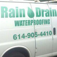 Rain Drain Basement Waterproofing