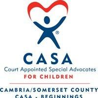 Cambria/Somerset CASA-Beginnings