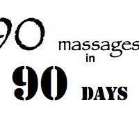 90 massages in 90 days - Pittsburgh