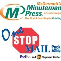 Minuteman Press of Hermitage & One Stop Mail