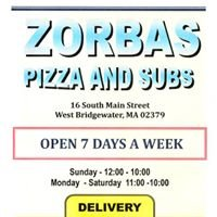 Zorbas Pizza and Subs