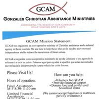 Gonzales Christian Assistance Ministries
